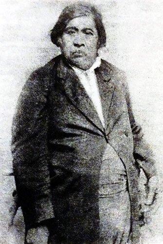 Fotografía atribuida al Cacique Feliciano Purrán