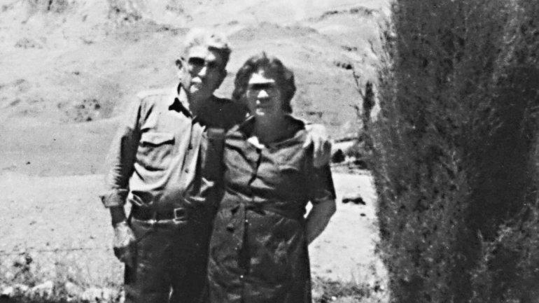 Manuel y Blanca, en uno de los pocos registros fotográficos que muestran a la pareja.