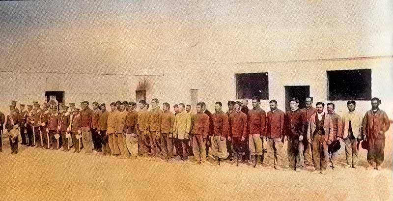 Formación carcelaria del penal, años antes de la fuga