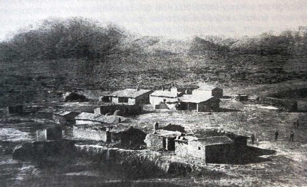 Chos Malal en 1883