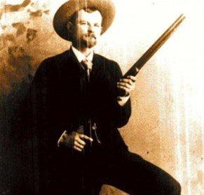Martin Sheffield, buscador de oro, se radicó en el Nahuel Huapi y era famosos por su puntería.