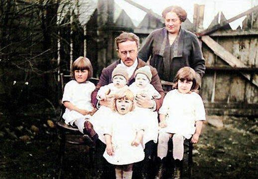 Rodolfo Koessler y familia