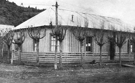 La casa de la familia Koessler. patrimonio histórico de San Martín de los Andes y de la provincia del Neuquén.