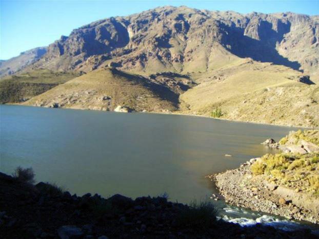 Foto de la laguna Cari Lauquen (2010)