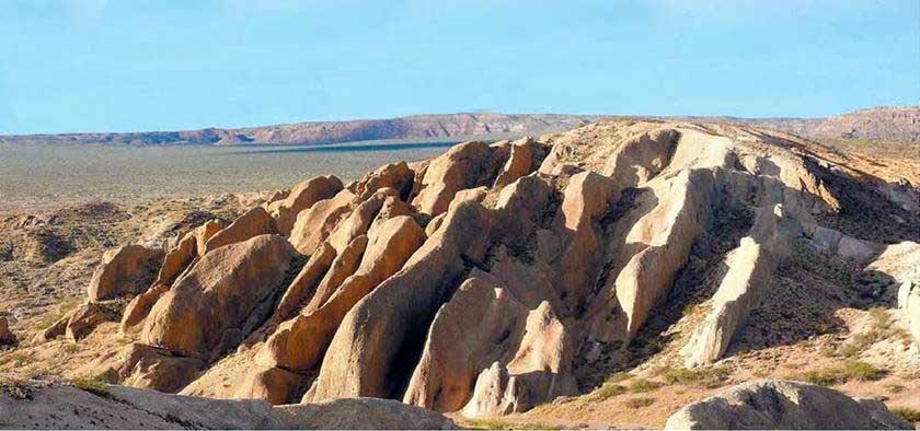 La historia geológica de Zapala.