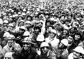 Las asambleas y movilizaciones de los obreros de Piedra del Aguila eran multitudinarias y, además, soberanas en sus decisiones.