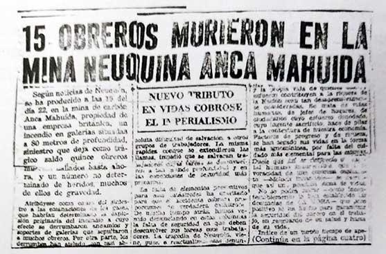 Diario La Hora del 25 de Agosto de 1947