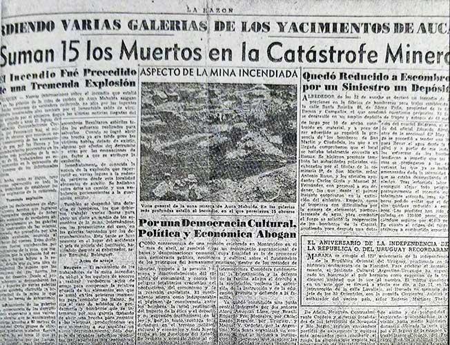 Diario La Razón del 23 de Agosto de 1947