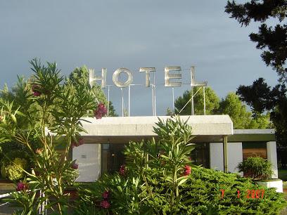 Hoy. Hotel Posta de Arroyito, en el lugar donde se encontraba la Estancia La María.