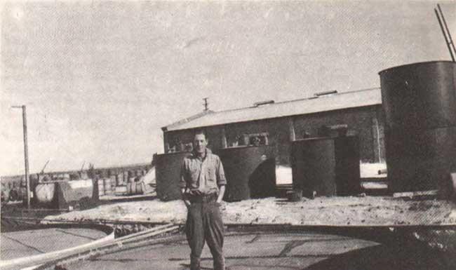 Primitiva destilería de Plaza Huincul