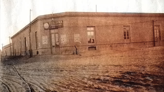 Zapala - Hotel Zapala - 1920 aproximadamente. Foto Gentileza Museo Municipal de Zapala