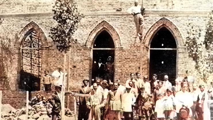 Zapala - Sociedad Sirio Libanesa - 1925 Foto Gentileza Museo Municipal de Zapala