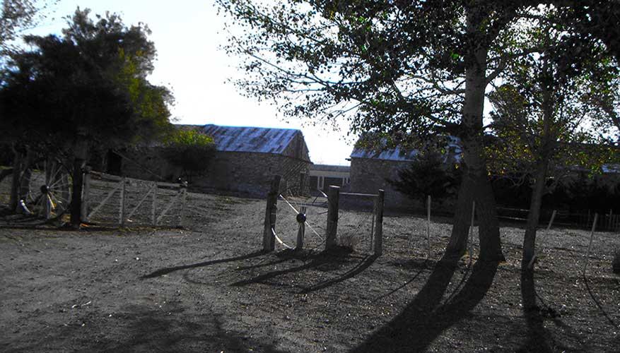 Casco de la estancia Sañicó