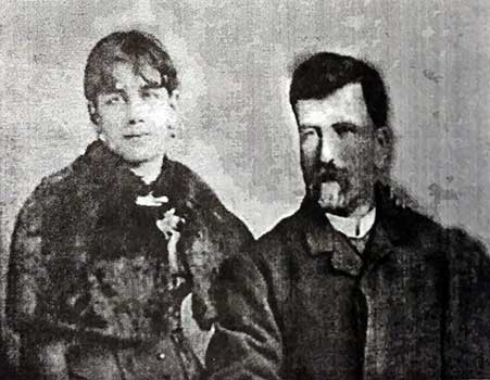 Belinda Olascoaga, junto a su padre, Manuel Olascoaga