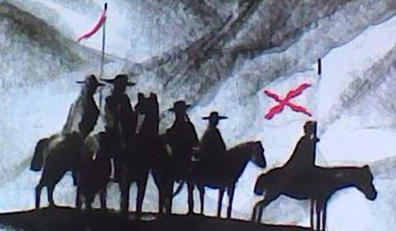 """Imagen de la tapa del libro La """"cueca larga"""" de Los Pincheira, de José Manuel González"""