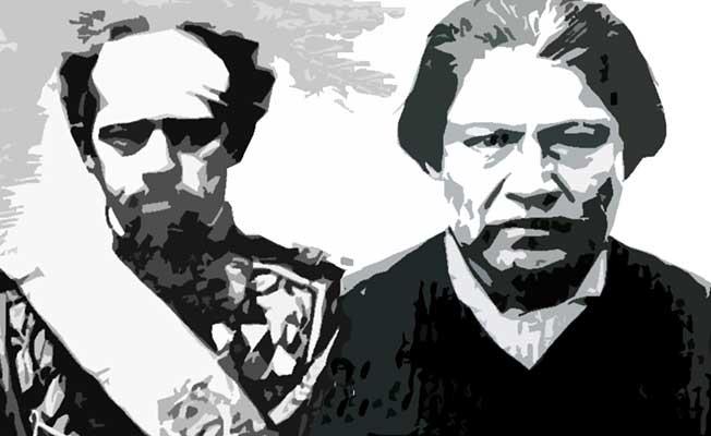 Julio Argentino Roca y Valentín Saihueque