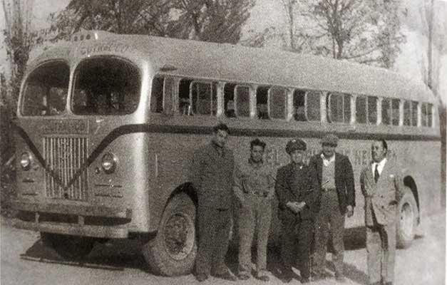 El rápido del Neuquén. Manuel Martín, Tito Izquierdo, Galván y Ceballos.