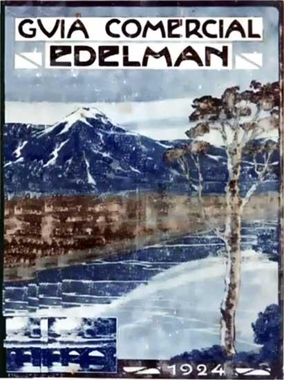 Guía comercial Edelman de 1924
