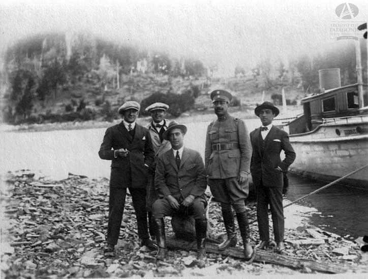 La lancha de la Gobernación del Neuquen Nº 5 (1920)