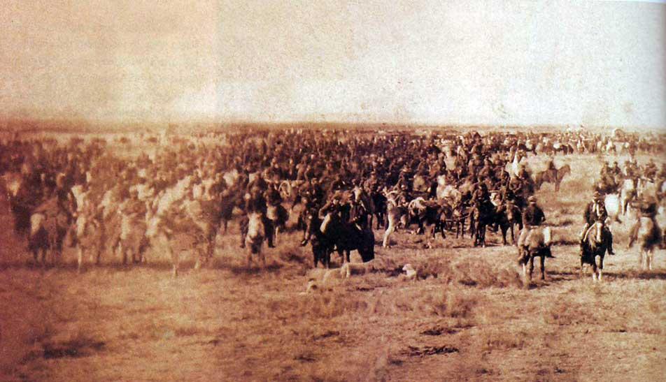 La Conquista del Desierto - Fotografía tomada por Antonio Pozzo