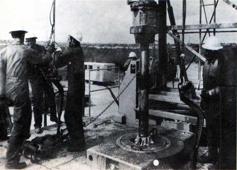 Perforación en Catriel Oeste -1967