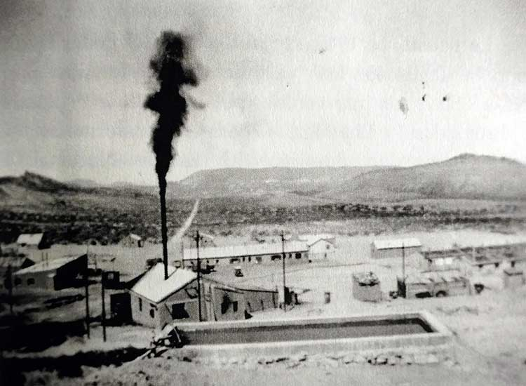 San Eduardo - Vista del Campamento - 1945