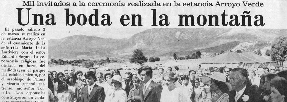 Boda de Maria Luisa Lariviere & Eduardo Segura 1979