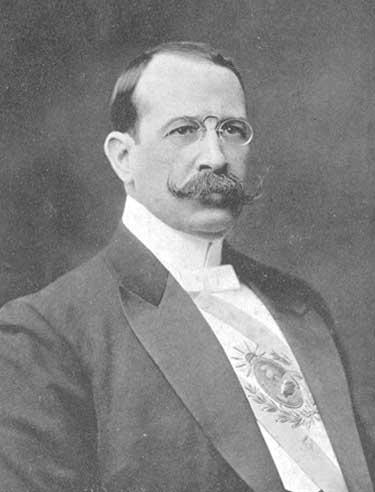 Presidente de la Nación Dr. José Figueroa Alcorta