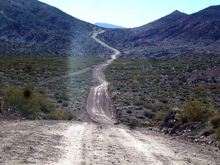 Ruta provincial, acceso a El Huitrín