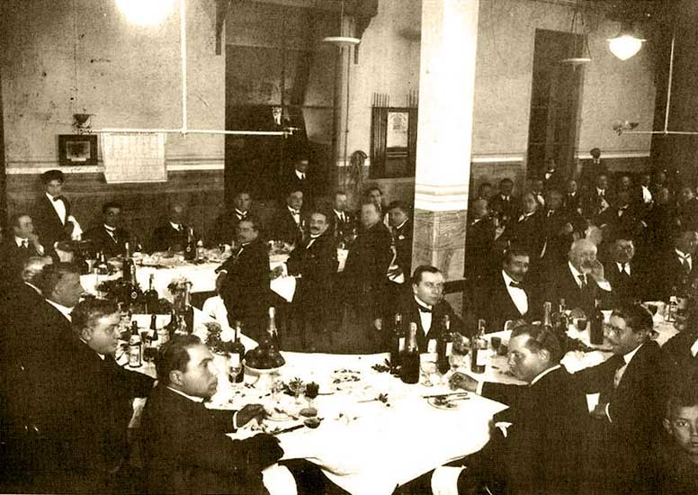 Autor desconocido, Fiesta en el Confluencia, 1930. Museo Gregorio Alvarez.