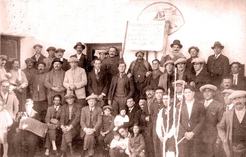 Autor desconocido, Festejo de La Fraternidad, 3 de julio de 1927. Museo Gregorio Álvarez.