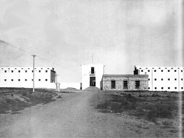 Autor desconocido. La Prisión Regional del Sur, 1920. Sistema Provincial de Archivos.