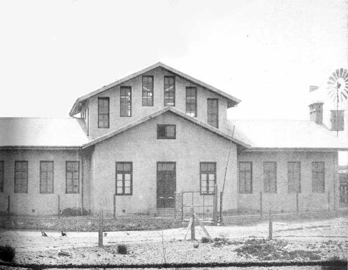 Autor desconocido. Escuela N° 2, 1912. Sistema Provincial de Archivos.