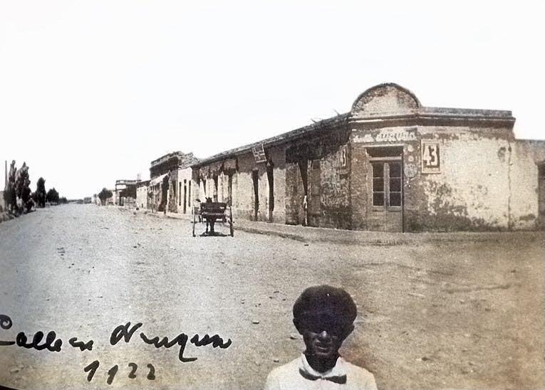 El pasaje del campo a la ciudad 1922 Neuquén.
