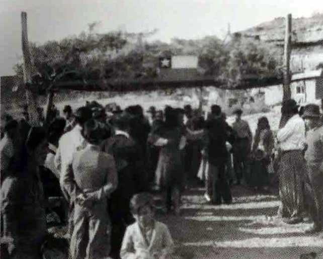 Día patrio Chileno en La Escondida (18 de septiembre de 1943)