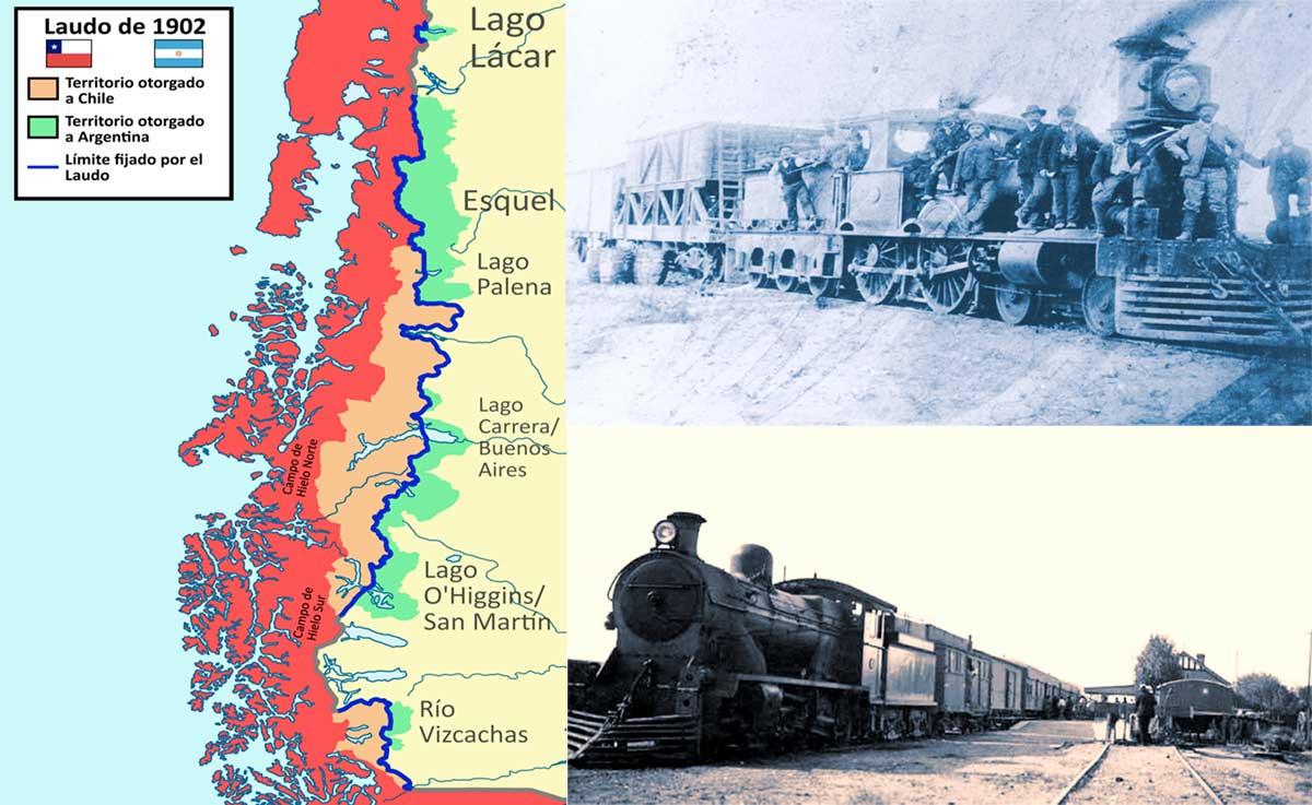 El Ferrocarril Sud a Neuquén (primera parte) – Un conflicto de límites.