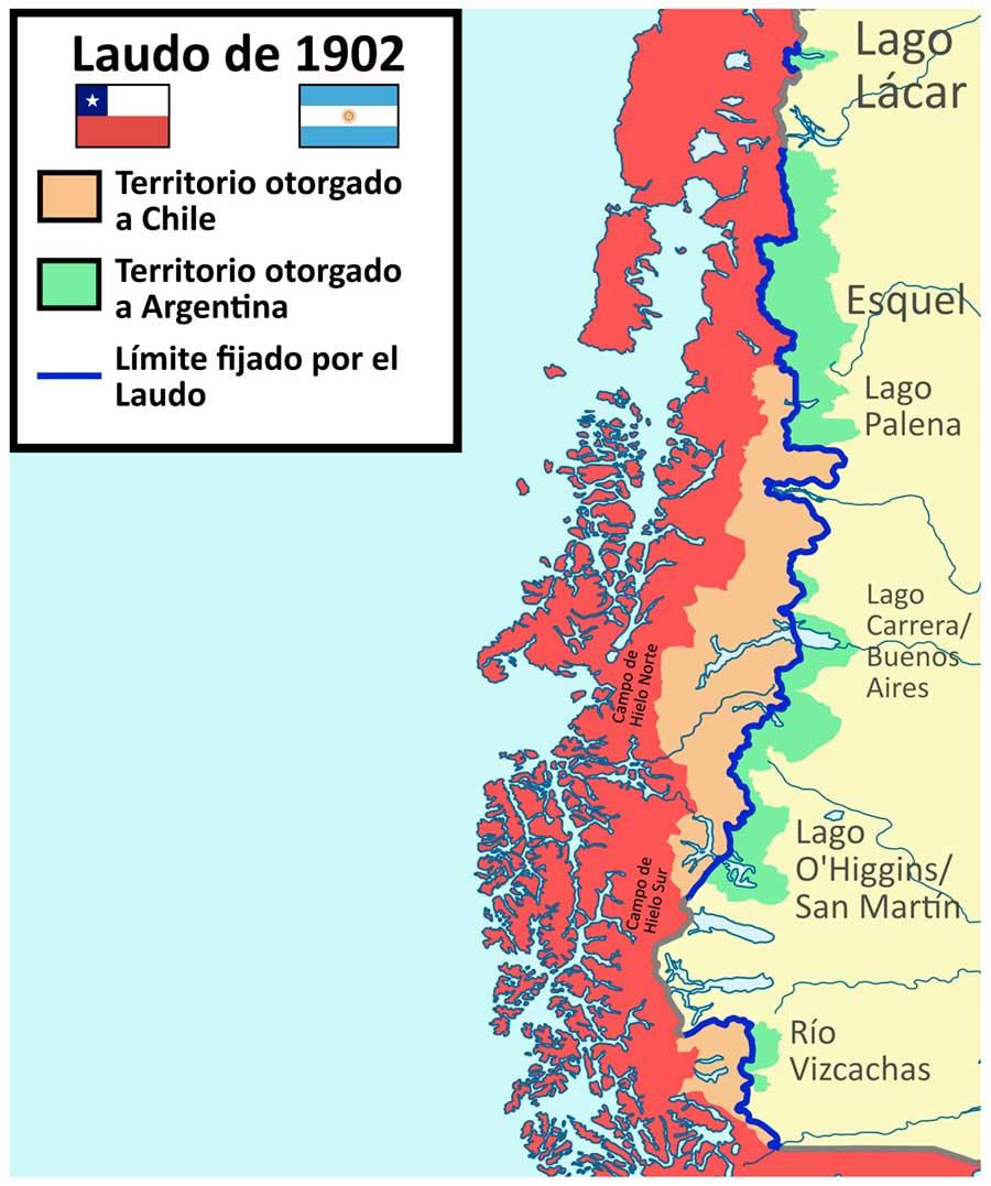 Laudo limítrofe entre Argentina y Chile de 1902