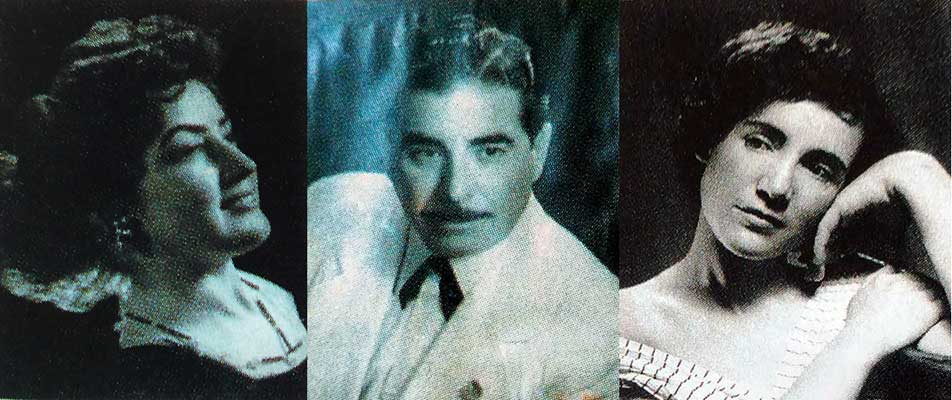 Algunos integrantes de Amancay: Amanda Halisky, Alfredo Lanza e Irma Escobar.