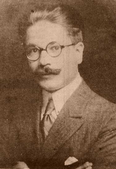 Gregorio Álvarez a los 25 años.