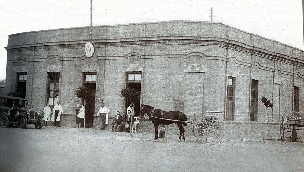 Asistencia pública, 1932, Neuquén Capital. Colección familia Castro Rendón