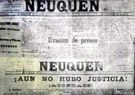 Diario Neuquén - Evasión de presos.