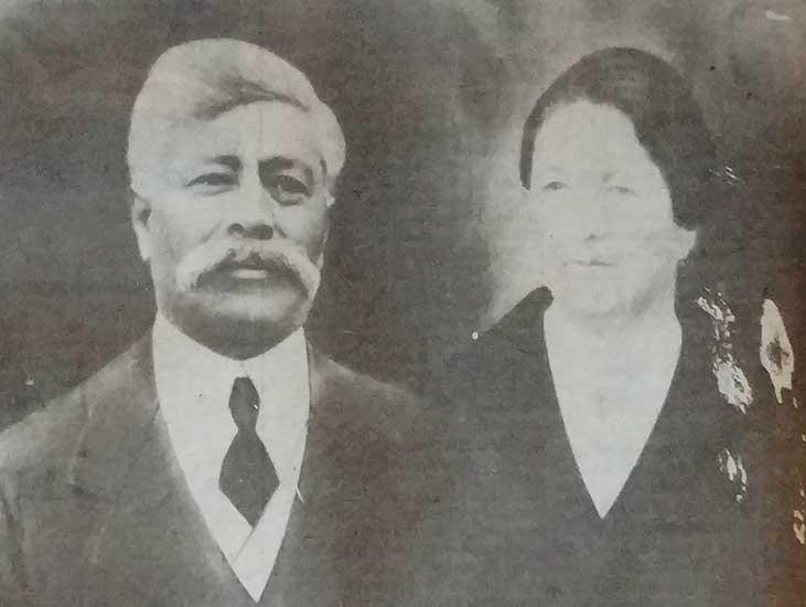 Gumercindo Álvarez y Juana de Dios Roto, los padres de Gregorio Álvarez