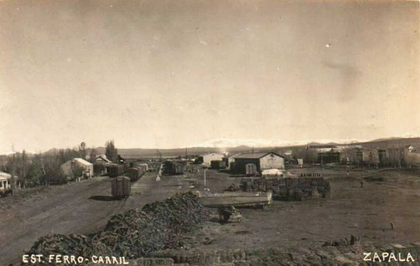 Estación de Ferrocarril Zapala - 1939