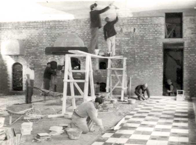 Construcción de la Panadería