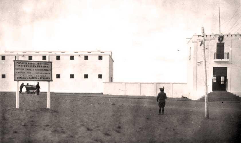 Cárcel en construcción (detalle cartel)