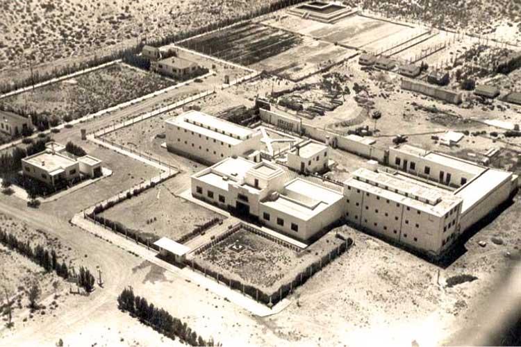 Vista aérea de la unidad año 1936