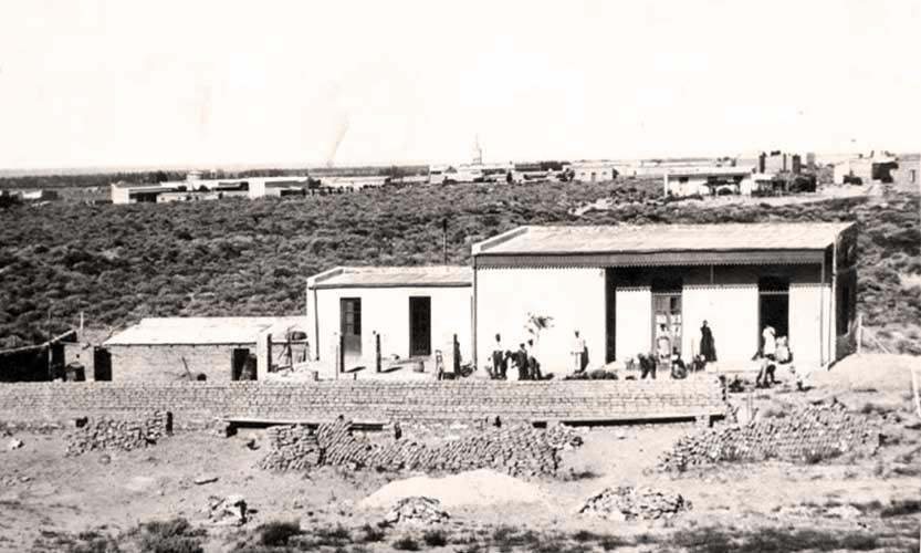 Dependencia que albergó a las mujeres detenidas año 1924