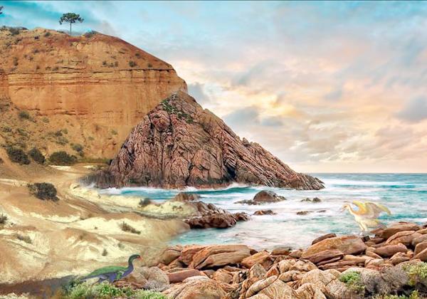 El mar del Pacífico ingresaba por el Oeste e inundaba grandes extensiones de tierra.
