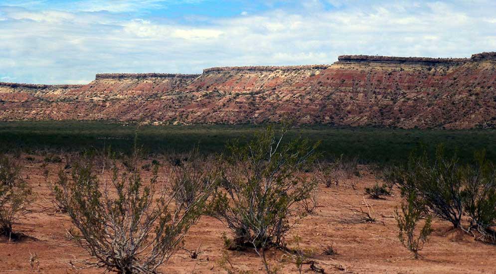 Rincón Colorado, a 10 Km de Octavio Pico