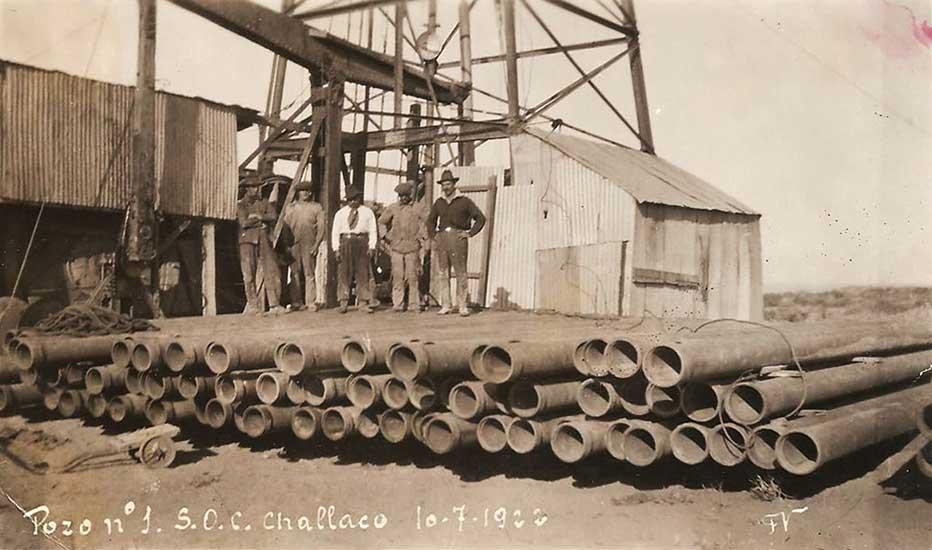 Pozo 1 - Challacó - 1922